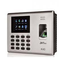 Máy chấm công và kiểm soát cửa vân tay Zkteco K40