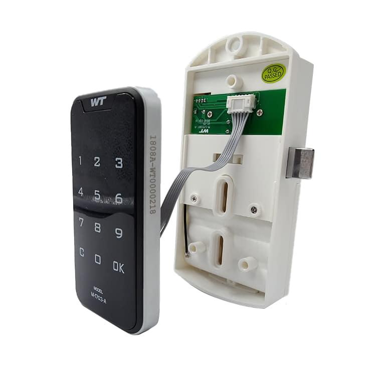 Khóa tủ locker mã số thẻ từ SBK-1703-A